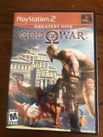 God Of War Greatest Hits Sony Playstation 2 With Manual & Case-Tested-Works-Nice