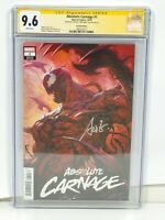 """ABSOLUTE CARNAGE #1 CGC 9.6 SS STANLEY """"Artgerm"""" LAU  VARIANT COVER"""