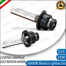 COPPIA LAMPADE FARI XENON ATTACCO D2S LUCE 6000K PER MINI ONE COOPER R50 R53
