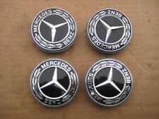 4x Alufelge Deckel Mercedes 57 mm.