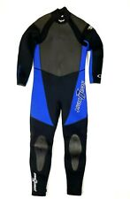 Seaquest Full Body Wetsuit Size L Blue Black