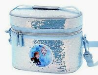 BRAND NEW AUTHENTIC DISNEY FROZEN 2 ANNA & ELSA LUNCH BOX BAG ~ICE SHIMMER~ NWT