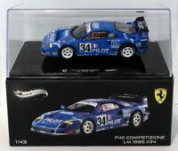 Hot Wheels 1/43 Scale Diecast X5508 - Ferrari F40 Competizione #34 lm 1995