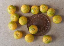Échelle 1:12 10 pamplemousses Maison de Poupées Miniature Fruit Cuisine Boutique accessoires