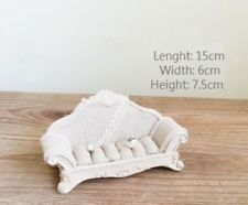 Jewelry display ring earrings holder crown sofa design Home decor Hemp stylish
