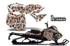 Snowmobile Graphics Kit Decal Sticker Wrap For Ski Doo Rev XM 13-16 URBAN ORANGE