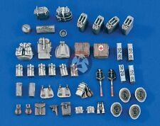 Verlinden 1/35 German Military Vehicle Stowage and Accessories Set WWII 1550