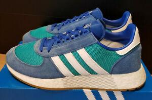 Adidas Originals Marathon Tech aqua/white/blue NEU SALE Gr. 45 1/3 UK:10, US 11