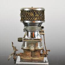 Vintage Stromberg 97 Carburetor - Polished - w Original Air Filter and Manifold