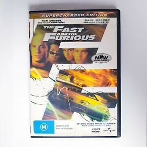 The Fast and The Furious Movie DVD Region 4 AUS Free Postage - Action
