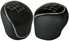 Ford Mondeo Mk4 IV Focus Mk3 S-Max C-Max Kuga Gear Shift Knob Perforated Leather