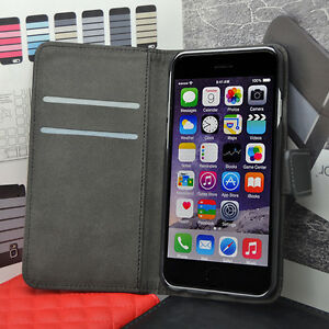 Quality Durable Leather Flip Case Wallet Cover for iPHONE Models SAME DAY