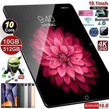 "10.1"" Black Android Tablet 512GB+10GB *Read Description* | Calls, Dual SIM, WiFi"