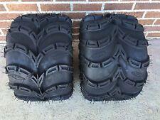TWO ITP Mud Lite SP 6 Ply ATV Tire Kit- PAIR  (2) 20x11-9 Sport ATV Set 20x11x9
