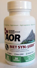 AOR MET-SYN-568R Cholesterol Support 30 Caps NEW Exp 3/2022