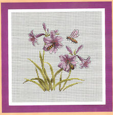 """""""Flower and bee""""counted cross stitch kits"""