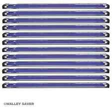 "Lot of 12 (One Dozen) 48"" BLACKLIGHTS (4 foot long) black UV Lights party case"