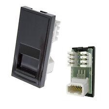 Triax Modular Faceplate BT Telephone Slave Insert Module Black