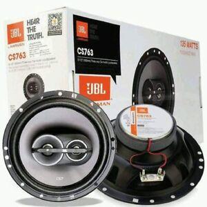 "JBL CS763 CS-Series 6-1/2"" 135 Watts Peak 3-Way Coaxial Car Audio Speakers I NEW"