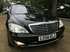 2006/56 MERCEDES S500 OBSEDIAN BLACK*STUNNING LATE LUXURY LIMO