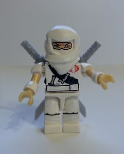 Kre-o GI Joe Storm Shadow All White 100% Complete. Free Shipping!