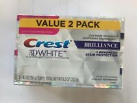 Crest3D White Brilliance Toothpaste Mesmerizing Mint 116g / 4.1oz pack of 2