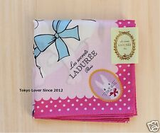 LADUREE Les amis Pink Handkerchief from Japan