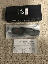 SAMSUNG 3D GLASSES SSG-5100GB  Model Code: BN96-25614A**1 PAIR ONLY**