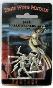 Ral Partha 20-553 Halloweeners Gang (Shadowrun) Street Punks Gangers Miniatures
