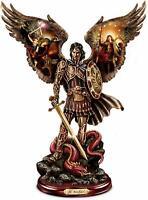 The Bradford Exchange Michael: Triumphant Warrior Sculpture with Howard David