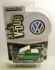 1968 '68 VW VOLKSWAGEN TYPE 2 T2 WESTFALIA CLUB V-DUB GREEN MACHINE CHASE LOW #