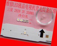 50 Pieces/lot LEDs for Samsung 2828 3V 1.5W 350MA SMD,cold white light