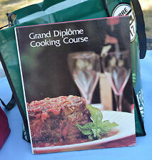 Grand Diplome Cooking Course Volumes 2 and 3 Vintage 1972