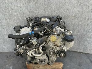 2013-2016 MERCEDES X166 W166 ML350 GL350 3.0L DIESEL ENGINE MOTOR TURBO 75K OEM