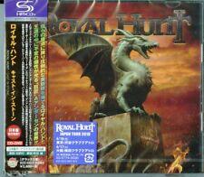 ROYAL HUNT-CAST IN STONE (Deluxe ver.)-JAPAN SHM-CD+DVD BONUS TRACK Ltd/Ed I45