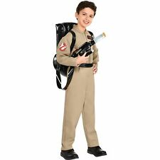 Party City Ghostbusters Costume Proton Pack Jumpsuit Backpack