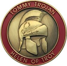 Tommy Trojan Geocoin, Antique Bronze, Activated