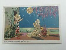 Cartolina Pubblicitaria Sacchetti Carta Goglio Rho Milano Serie Pierot 2
