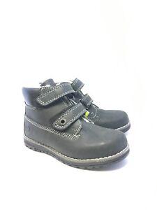 Primigi Boys Dark Navy Boots With Easy Touch Straps Size Eu29.