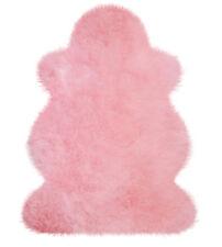 Australisches Lammfell Lammfelle Rosa in 1 A Premium Qualität ca. 100 x 68