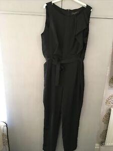 Black LUXE Jumpsuit Size 18 BNWT