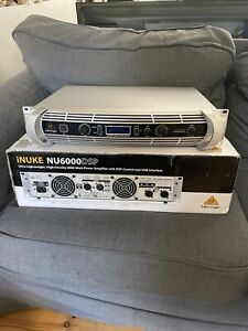 Behringer iNUKE NU6000DSP (6000w Class D Power Amplifier with DSP Control)