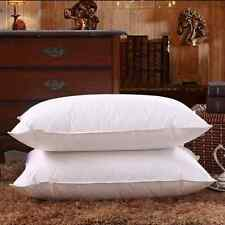 100% Canadian Goose Down Filled Pillow,1800TC White 100% Egyptian Cotton Cover