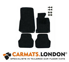 Bmw 5 Series E39 Saloon 1996 - 2003 Tailored Car Floor Mats Fitted Set in Black