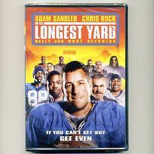 The Longest Yard 2005 PG13 football comedy movie new DVD Adam Sandler Chris Rock