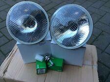 mgb mgb gt chrome bumper halogen headlamp set inc bulbs H4