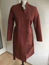 Pret A Porter Rust Rain Coat Size S