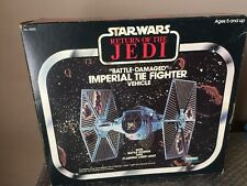 Imperial Tie Fighter Battle Damaged Star Wars Kenner vintage Return of the Jedi