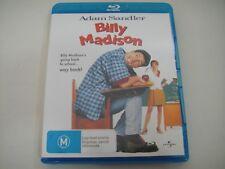 Billy Madison (1995) - Blu-Ray Region Free   Like-New   Adam Sandler   Rare