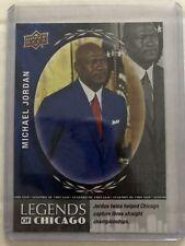 2017 Upper Deck National Convention Legends Of Chicago #CHI-MJ Michael Jordan